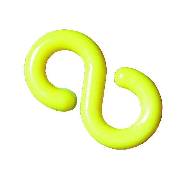 VFM Yellow Hook Connecting Links 6mm (Pack of 10) 360080