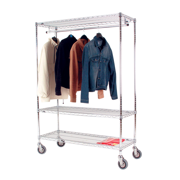 Image for Garment Hanging Rail 1860M Mobile 366043