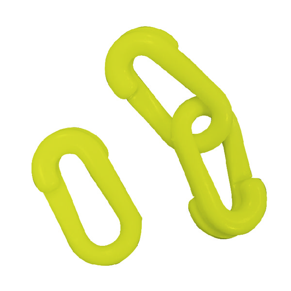 VFM Yellow Connecting Links 6mm Joint (Pack of 10) 371446