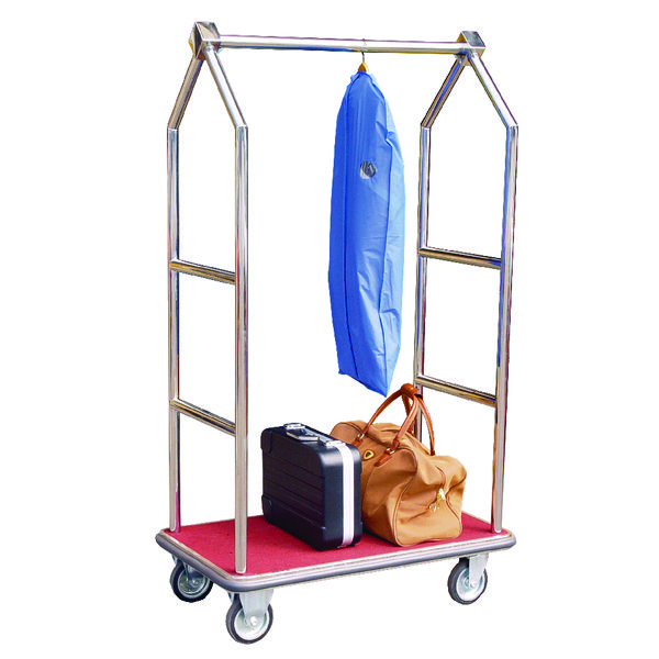 Luggage Trolley Chrome Finish 373240