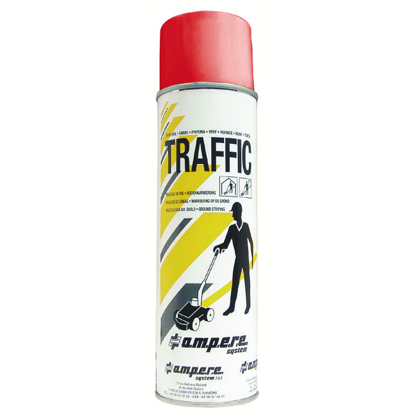 Red Traffic Paint (Pack of 12) 373881