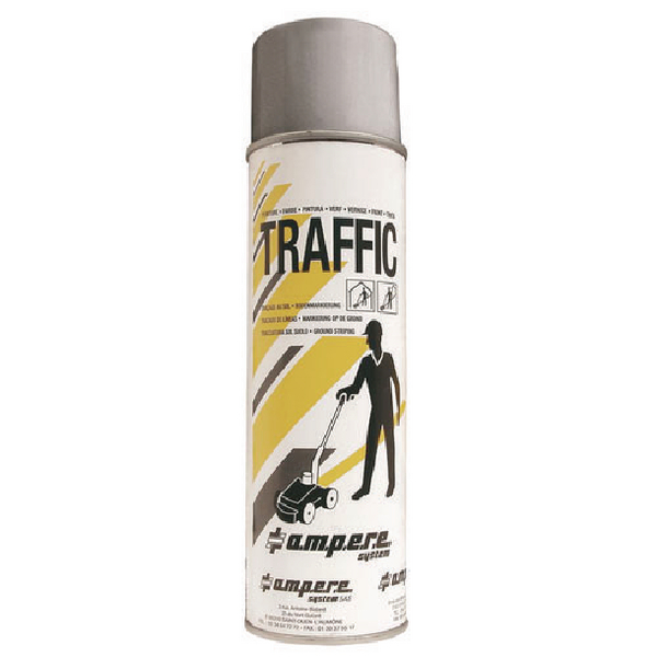 Image for Grey Traffic Paint (Pack of 12) 373884
