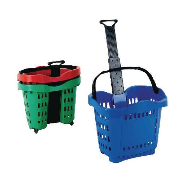 Giant Shopping Basket/Trolley Blue SBY20754.
