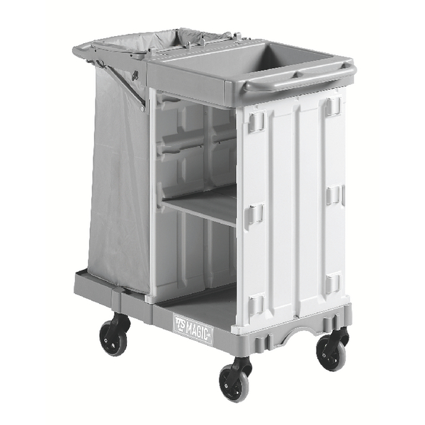 Housekeeping Trolley Small Base Grey 374980