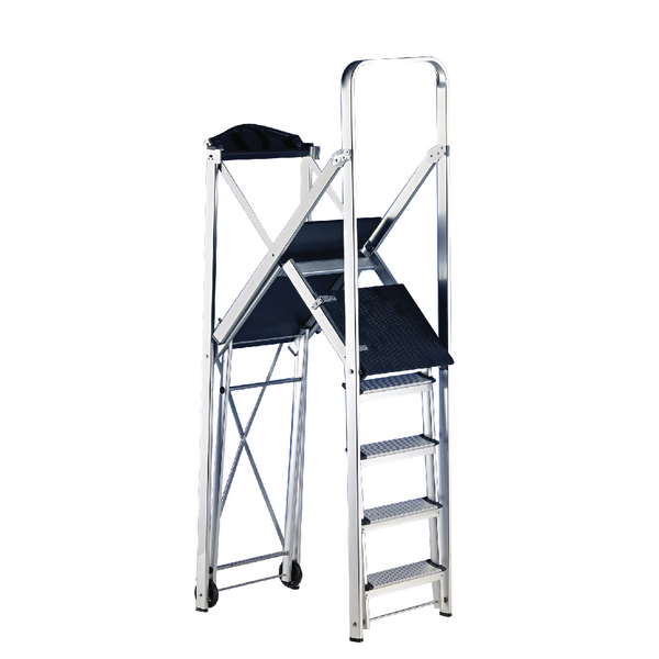 Folding Metal Scaffold Work Platform (Maximum capacity: 150kg) 382420