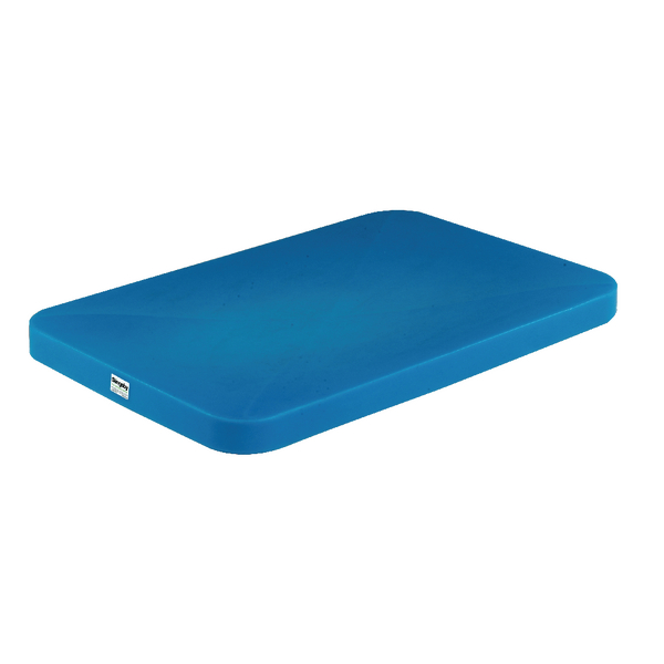 VFM Blue Mobile Tapered Container Truck Lid 308368