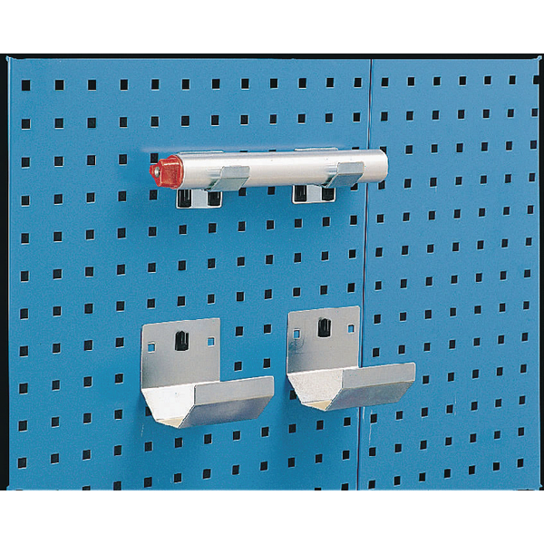 Image for Bracket Pipe 60x100mm (Pack of 2) Grey 306999