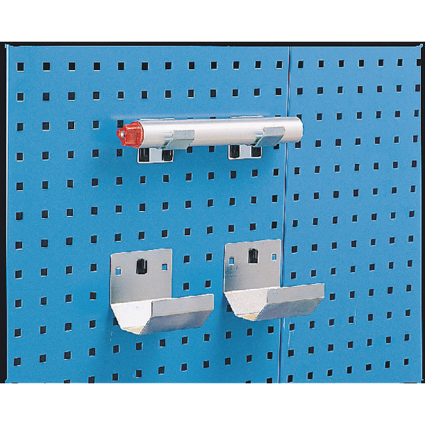Image for Bracket Pipe 100x36mm (Pack of 2) Grey 307002