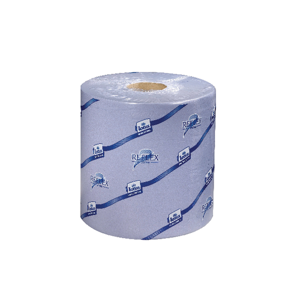 Tork Reflex Blue Centrefeed Tissue 2-Ply 150m (Pack of 6) 473263