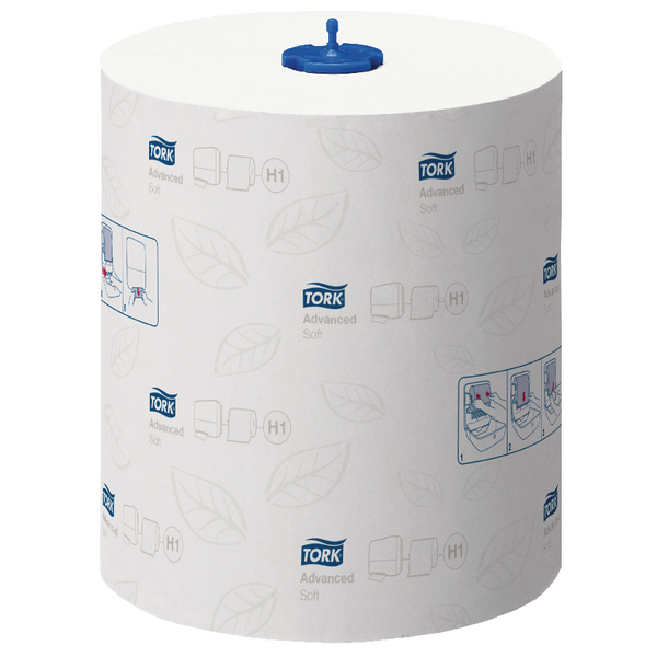 Tork Matic Soft Hand Towel Roll 2 -Ply 150m White (Pack of 6) 290067