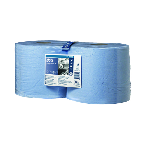 Tork 2-Ply Blue Roll 255m (Pack of 2) 130052