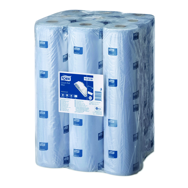 Tork Couch Roll Advanced 54m Blue (Pack of 9) 152250