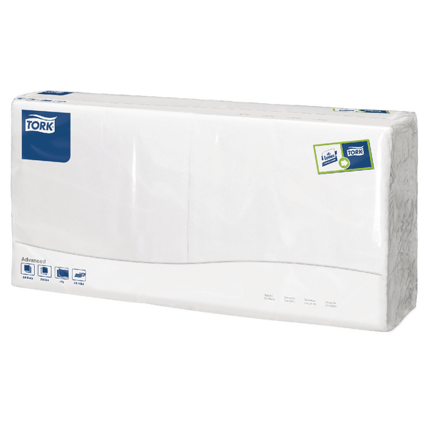 Tork White 2-Ply Lunch Napkin (Pack of 200) 477149