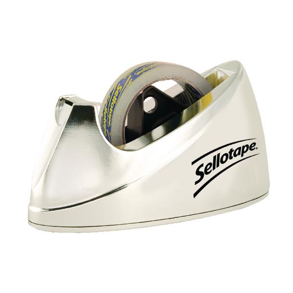 Sellotape Dispenser Chrome Large 575450