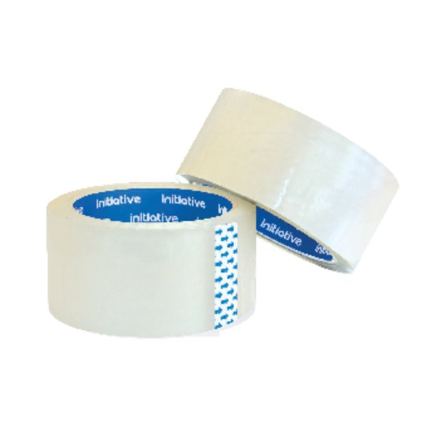 Initiative Polypropylene Packaging Tape 48mm x 66m Clear