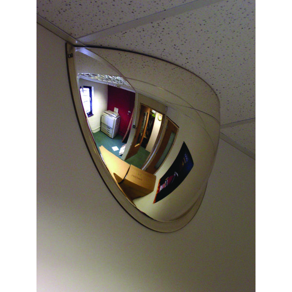 Securikey Convex Half Face Dome Mirror 600 x 300mm M18535H