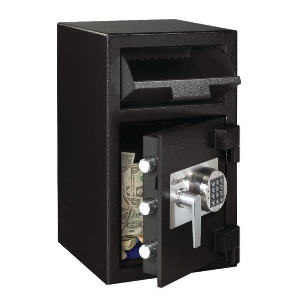 Image for Master Lock Deposit Under Counter Safe 36.8 Litres Black DH-109E