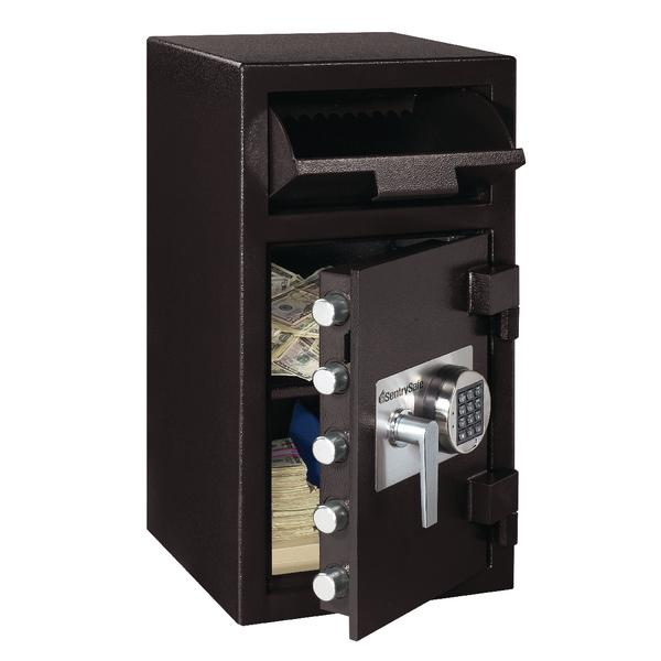 Master Lock Deposit Under Counter Safe 45.3 Litres Black DH-134E
