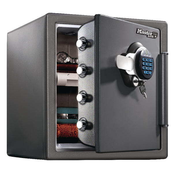 Master Lock 120 Fire-Safe Water Resistant XL 34.8 Litres Black LTW123GTC