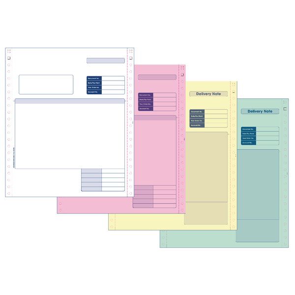 Image for Custom Forms Sage Invoice/Delivery Note (Pack of 500) SE04