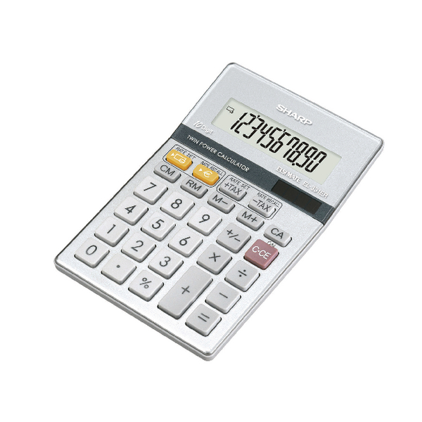 Sharp EL-331ER Calculator 10-digit