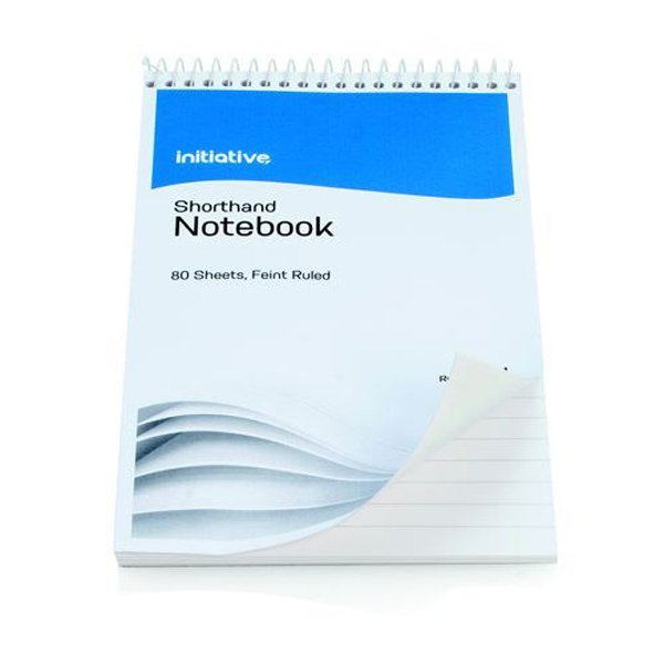 Initiative Shorthand Notebook 160 Pages 203 x 127mm (8 x 5 Inch) 60gsm paper SH3031