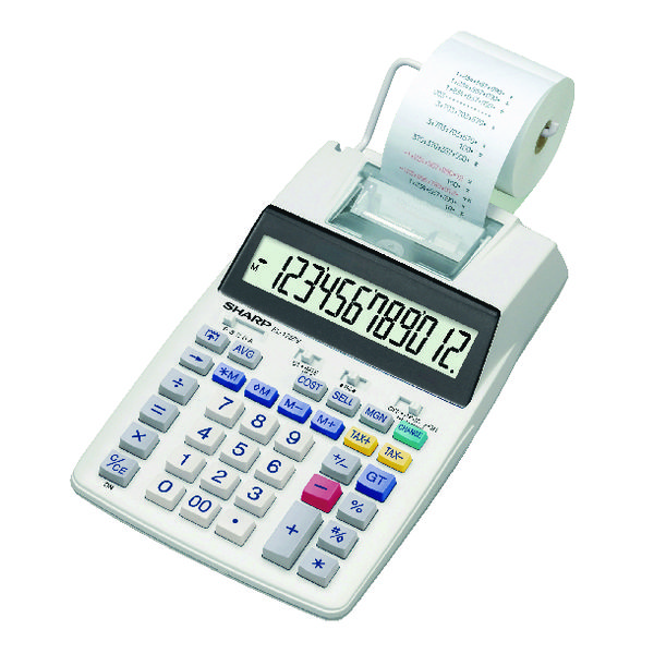 Sharp Printing Calculator EL1750V