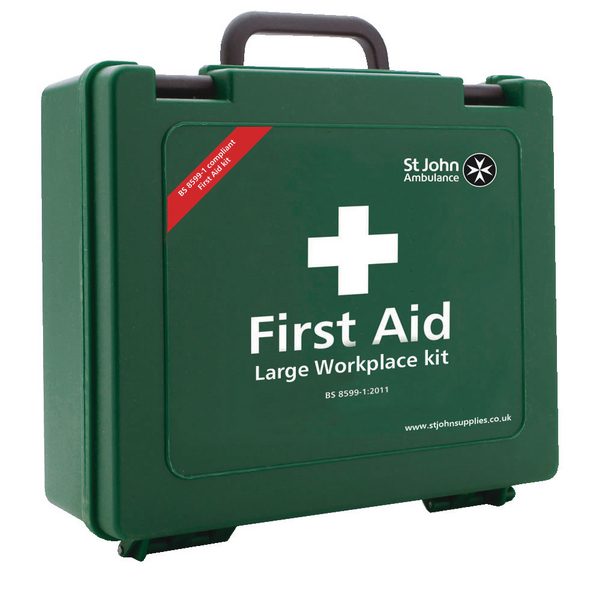 St John Ambulance Workplace First Aid Large 100 Person F30659