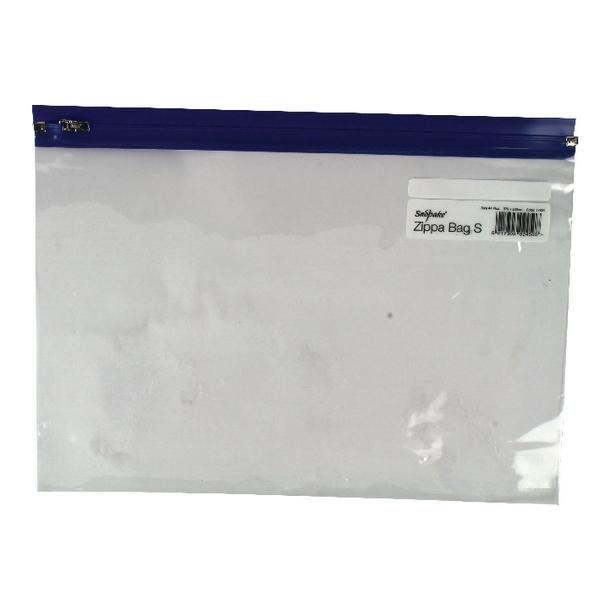 Snopake A4 Plus Blue Zippa Bags 12804