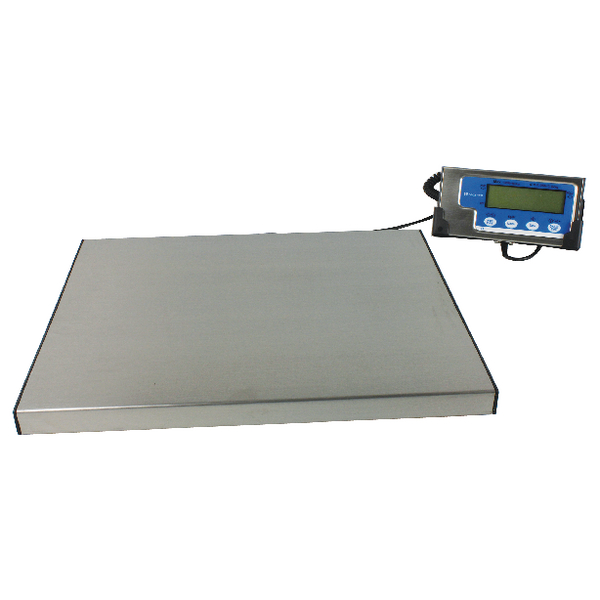Salter Electronic Parcel Scale 60 kg (Detachable LCD screen, hold and tare functions) X20Gms WS60