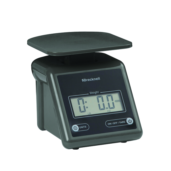 Image for Salter Grey Compact Postal Scale (upto 3.2kg) PS7 (1)