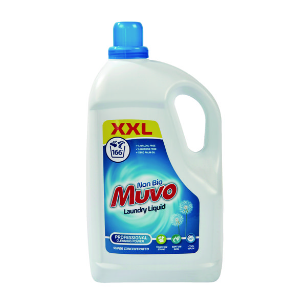 Image for Muvo Laundry Liquid Non-Biological 4.98 Litre M4980MLNB166