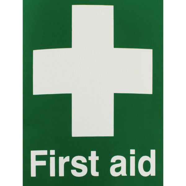 Safety Sign First Aid 150x110mm Self-Adhesive EO4X/S