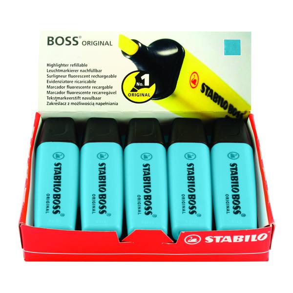 Stabilo Boss Original Highlighter Blue 70/31/10