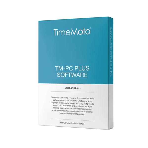 Safescan TimeMoto PC Software Plus (Retail Pack) 139-0600