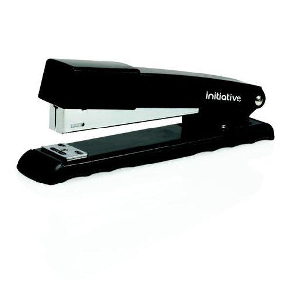 Initiative Metal Full Strip Stapler 22 Sheet Capacity Black ST9292