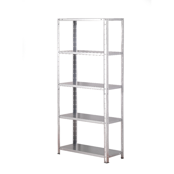 Image for Storage Solutions Light Duty Bolted 5-Shelf Unit Galvanised ZZBS5GV150C07030