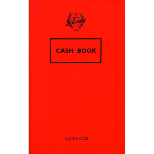 Image for Silvine Cash Book 159x95mm 36 Leaf Cash (Pack of 24) 042C-T