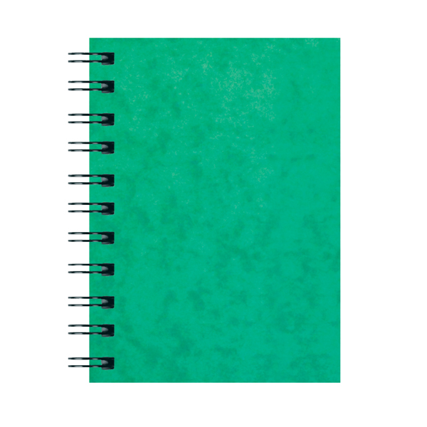 Image for Silvine Luxpad Hardback Wirebound Notebook A6 (Pack of 12) SPA6