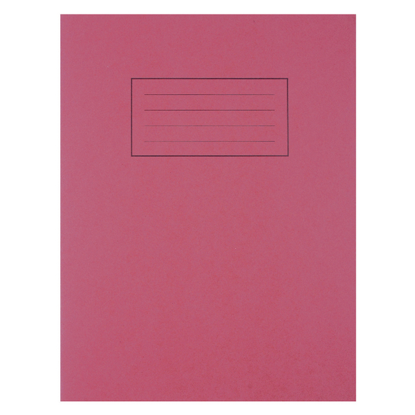 Image for Silvine Feint Ruled With Margin Red 229x178mm Exercise Book 80 Pages (Pack of 10) EX101