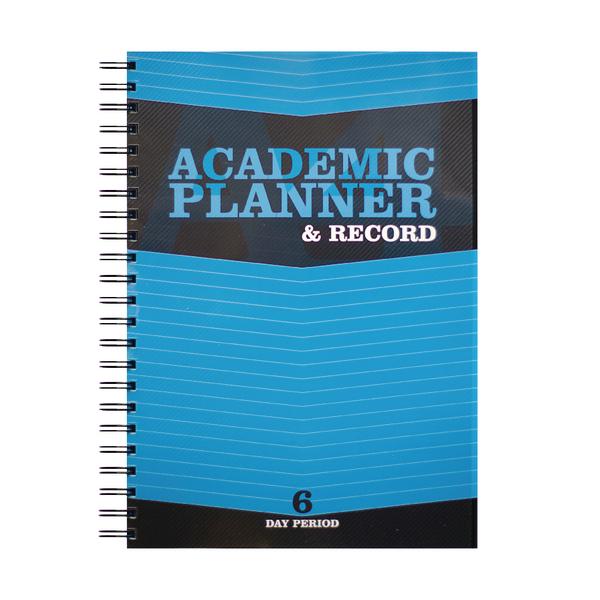 Silvine 6 Period Blue A4 Teacher Academic Planner and Record EX202
