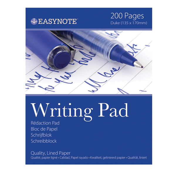 Tallon 200 Pages Lined Duke Pad (Pack of 12) 3254/72