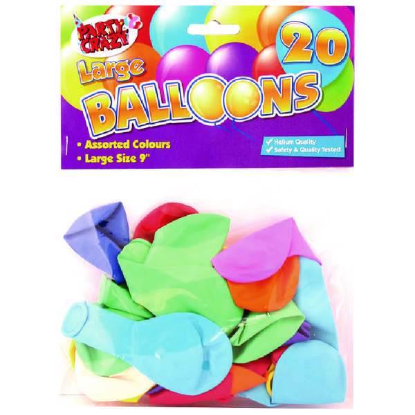 Tallon Balloons 9 Inch Large (Pack of 20) 5700