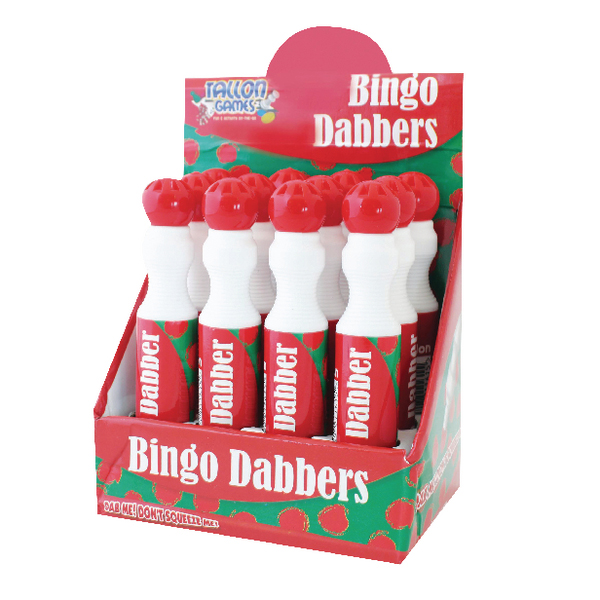 Large Red Bingo Dotter (Pack of 12) 1161/48
