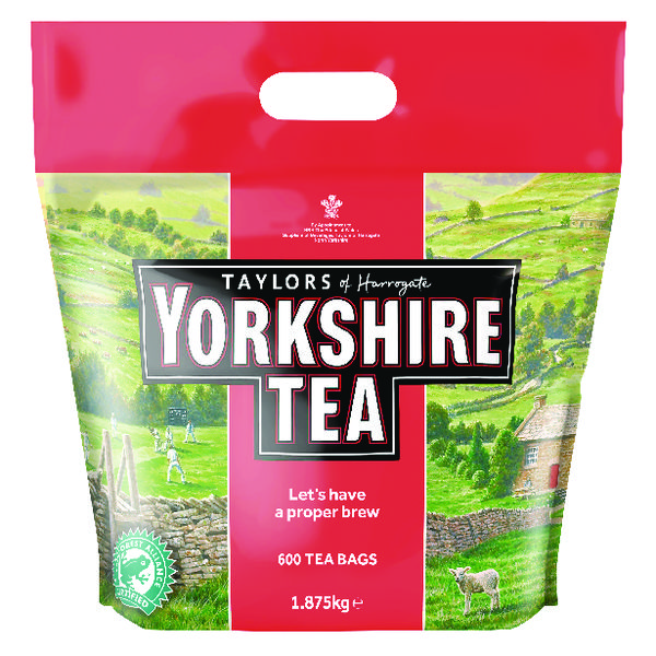 Yorkshire Tea One Cup Tea Bag Pk600 1108