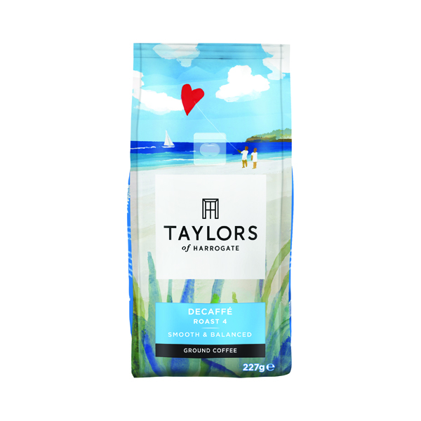 Taylors Decaffeinated Roast & Ground Coffee 227g 3687