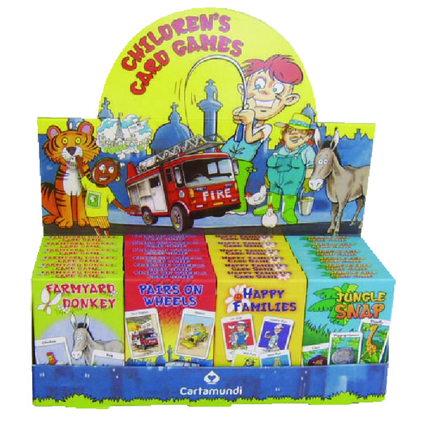 Carta Mundi Childs Card Games Mixed (Pack of 24) 107677998