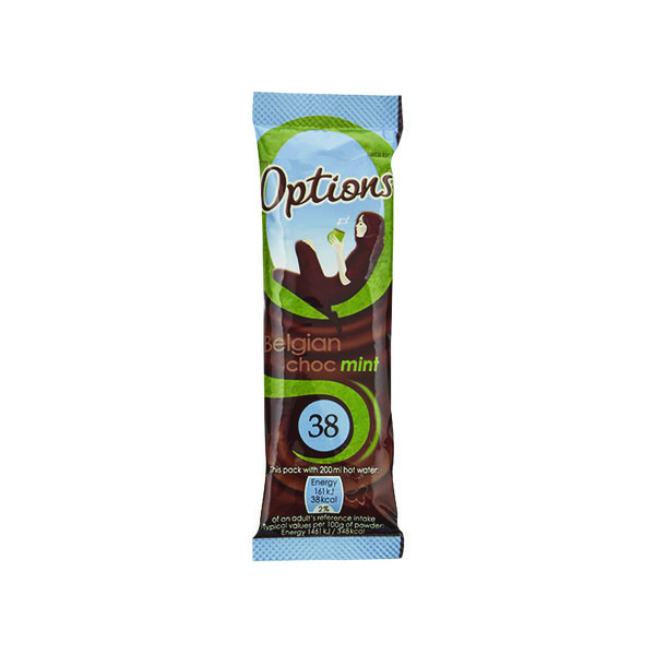 Options Hot Chocolate Mint 11g (Pack of 30) W550093