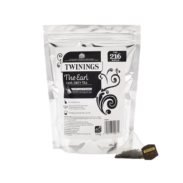 Twinings The Earl Pyramid (Pack of 40) F12533