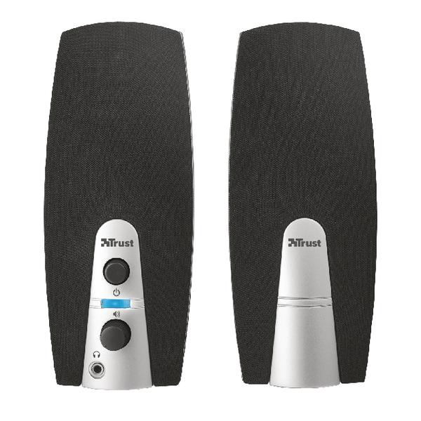 Image for Trust Compact 10 Watt 2.0 speaker set (5 Watt RMS) 16697